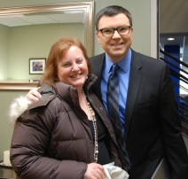 "Met Jason Matheson, host of ""The Jason Show"". Love him!"