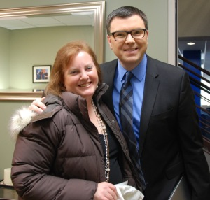 "Met Jason Matheson, host of ""The Jason Show"". Love him!"